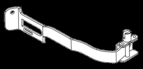 Натяжитель тента передний левый_(6110375)