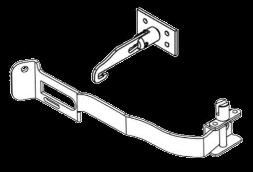 6110377 Кмт механизма L натяжки тента и держателя