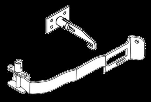 6110378 Кмт механизма R натяжки тента и держателя
