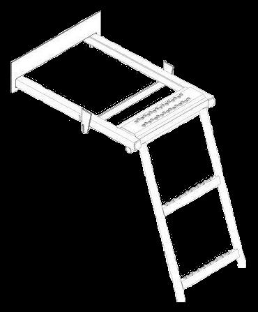 6300140 Лестница выдвижная