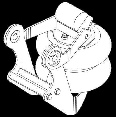 6300368 Подъёмный механизм оси