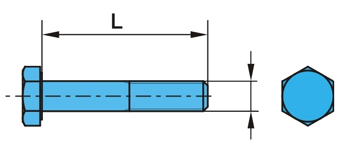 0520110 Болт амортизатора М20 L=110 mm