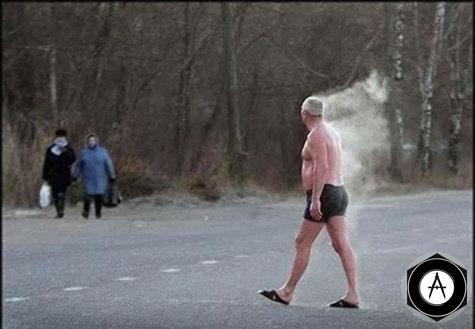 Hot Old Man