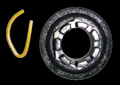 9RDF4865A Корончатая гайка ступицы SN3016