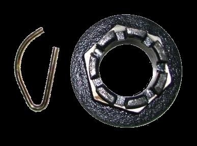9RDF4865B Корончатая гайка сельхоз ступицы