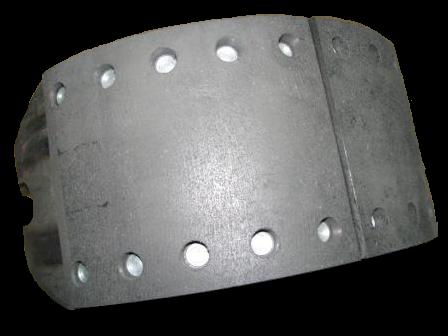 9RE0036 Кмт тормозных колодок 420x180 в сборе на колесо