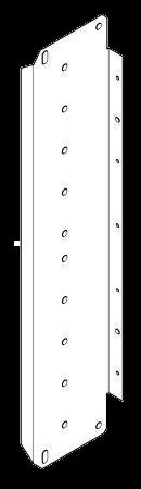 533635 Рамка розеток боковая