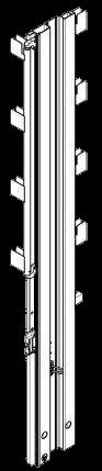 575396 Стойка угловая задняя правая под тент