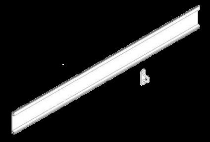 30958802 Профиль передней стенки под петли тента