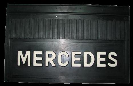 82506 Кмт брызговиков MERCEDES 580x360mm