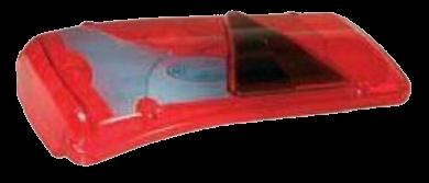 056700 Стекло L заднего фонаря с треугольником LC8