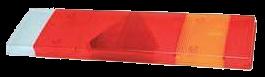067600 Стекло R заднего фонаря с треугольником