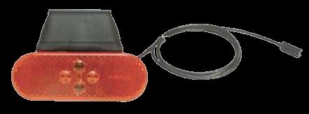 104250 Боковой 4 LED габарит с кронштейном и кабелем