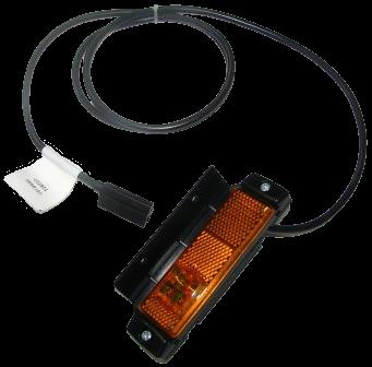 41500003 Фонарь боковой кабель 1500mm Humbaur, Kogel кабель 1500mm