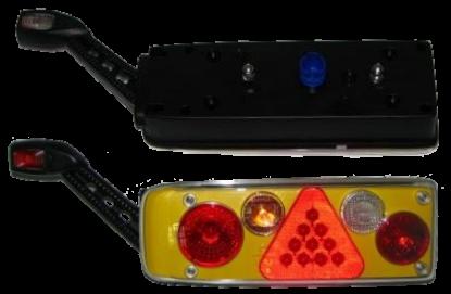 2VP340942087 Фонарь L с жёлтой вставкой Humbaur,Kogel