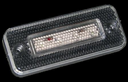 YP77W Габарит LED прямоугольный белый