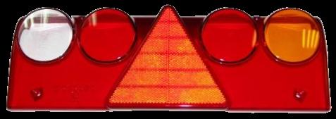 611458 Стекло R фонаря Europoint II с жёлтой вставкой