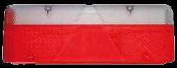 188570001 Стекло L заднего фонаря EUROPOINT III
