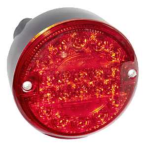 0361L Фонарь LED круглый задний красный