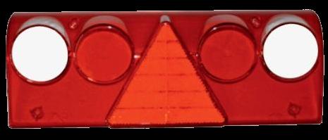 611452 Стекло L R фонаря Europoint II Schmitz