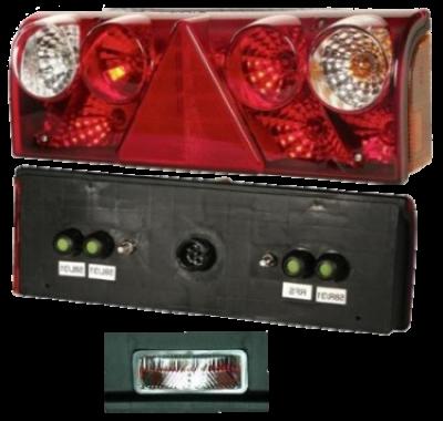 256601517 Задний R фонарь 5pin с подсветкой Europoint II