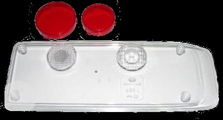 9EL340829061 Стекло R заднего фонаря прозрачное Kogel,Humbaur