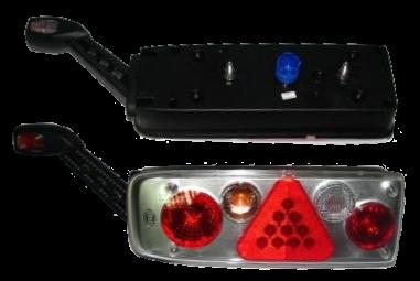 6604332 Задний фонарь левый с рогом Kogel разъём HELLA