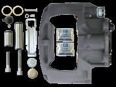 K012633 Суппорт дискового тормоза SK7042