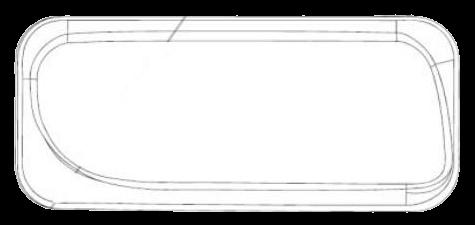 690913 Стекло R противотуманки ACTROS II