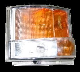 0231LA Кмт поворотников L\R с розетками Scania