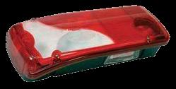 156770 Задний L фонарь Scania