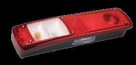611260 Задний L фонарь RVI, Volvo LC9
