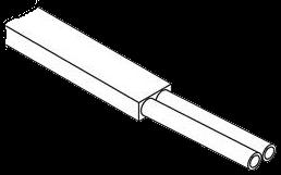 127551402 Плоский кабель бухта 200м