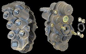 AE4506 Кран 4-х контурный защитный