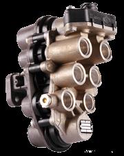 AE4526 Кран 4-х контурный защитный