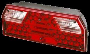 720126 Задний фонарь правый с проводом LED EUROPOINT I
