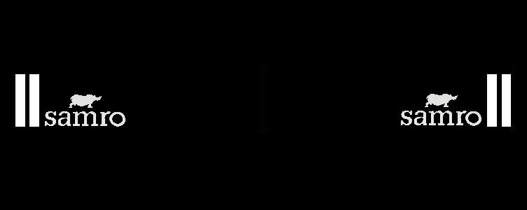 Intertruck. 350381123. Брызговик 2400mm бампера с логотипом SAMRO к-т 2 шт