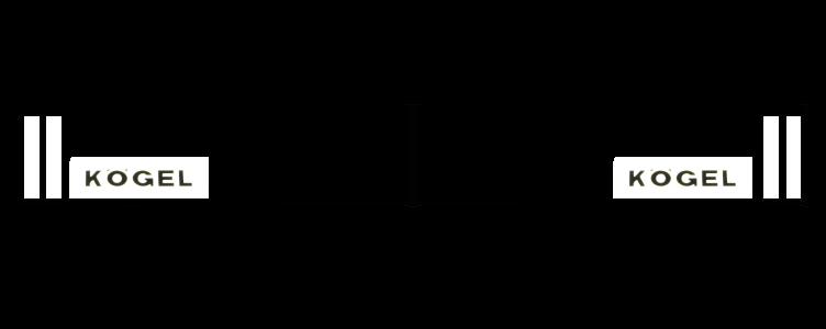 350381118 Брызговик KOGEL 2400mm СВЕТООТРАЖАЮЩИЙ  к-т 2шт