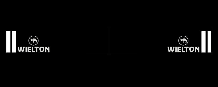 Intertruck. 350381122. Брызговик 2400mm бампера с логотипом WIELTON к-т 2 шт_