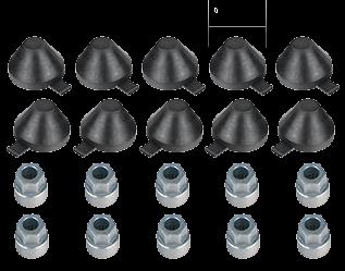 101041 Кмт колпачков 35mm и ключей развода суппорта KNORR SB SK 5-6-7
