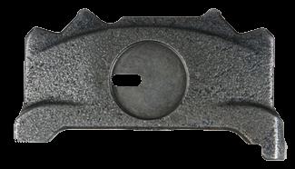 303580 Прижимная плита правая суппорта WABCO PAN 19,5 - 22,5