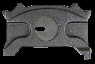 303582 Прижимная плита правая суппорта WABCO PAN 19,5 - 22,5