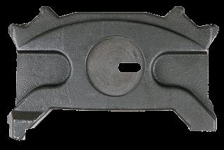 303583 Прижимная плита левая суппорта WABCO PAN 19,5 - 22,5
