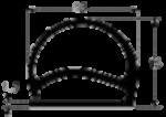 1232510 Бухта 30м резинового уплотнителя