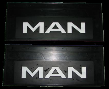 90101 Кмт задних брызговиков 660mm-270mm MAN
