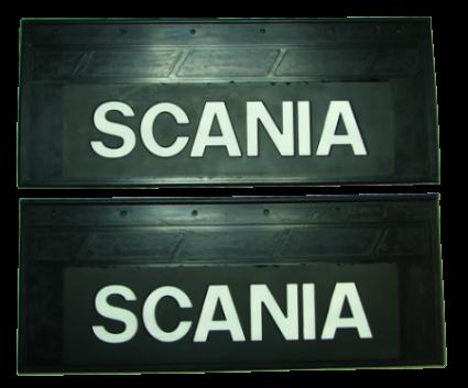 90103 Кмт задних брызговиков 660mm-270mm SCANIA