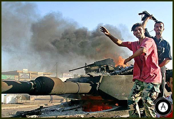 подбит танк Абрамс 1 -го батальона 35-го