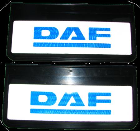 90108 Кмт передних брызговиков DAF 520mm-250mm СВЕТООТРАЖАЮЩИЕ