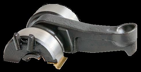 101272 Лапка суппорта изгиб 12 градусов 123mm Knor
