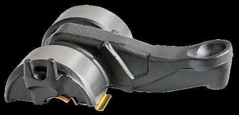 101275 Лапка суппорта изгиб 12 градусов 123mm Knor